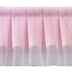 Лента бордюрная Розовое кружево