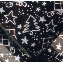 Переводилка-плёнка на шоколад Ель с подарками