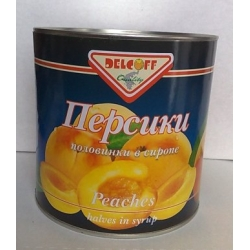 Персики консервированные, половинки, ж/б 265