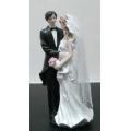 Свадебная пара 28360, 19 см