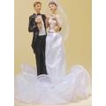 Свадебная пара 28370, 19 см