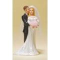 Свадебная пара 28398, 12 см