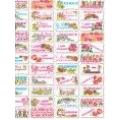 Вафельные визитки, 4х9 см, 132 шт